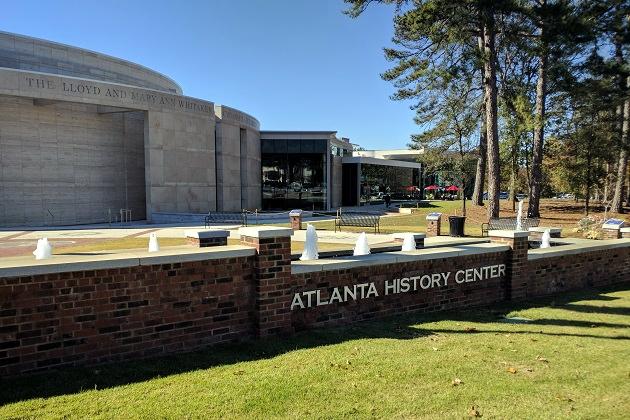The Atlanta History Center in Buckhead