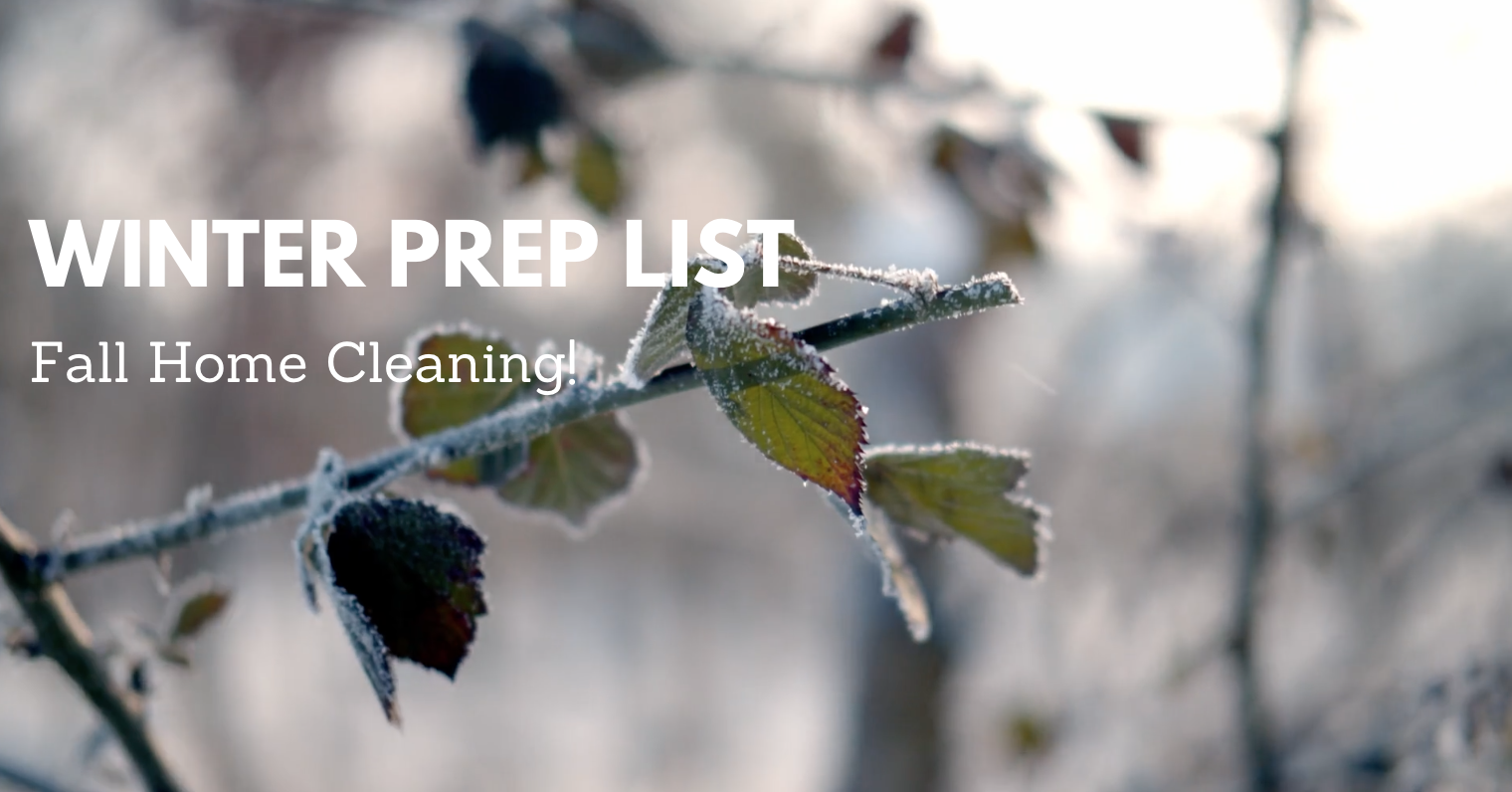 Most Important Ways to Prep Your Home for Winter