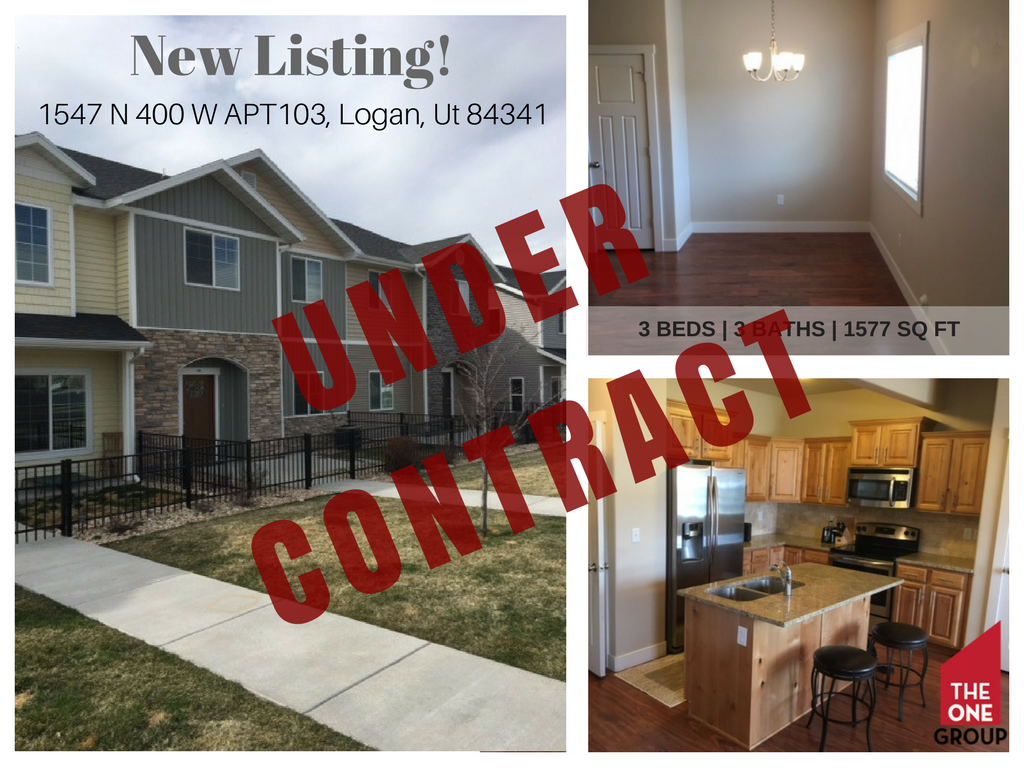 under contract in 5 days new listing in logan