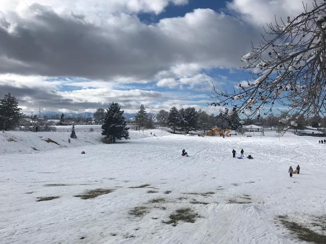 Sledding in Salt Lake
