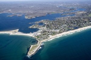 Coastal views of Westerly, Rhode Island
