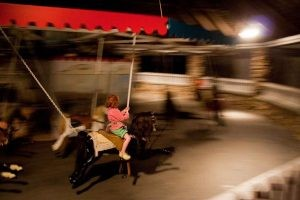 Flying Horse Carousel in Westerly, Rhode Island