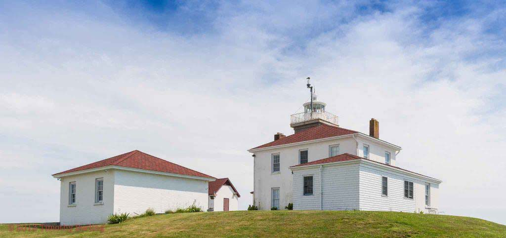 Watch Hill Lighthouse in Westerly, Rhode Island