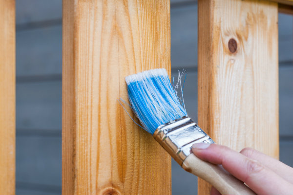Painting a Bannister and Renovating Home