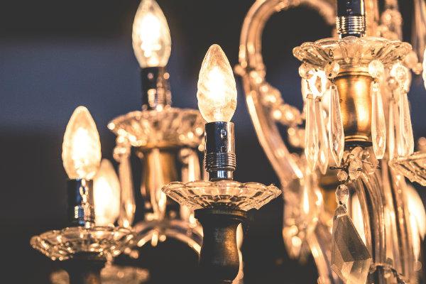 Luxurious Golden Chandelier