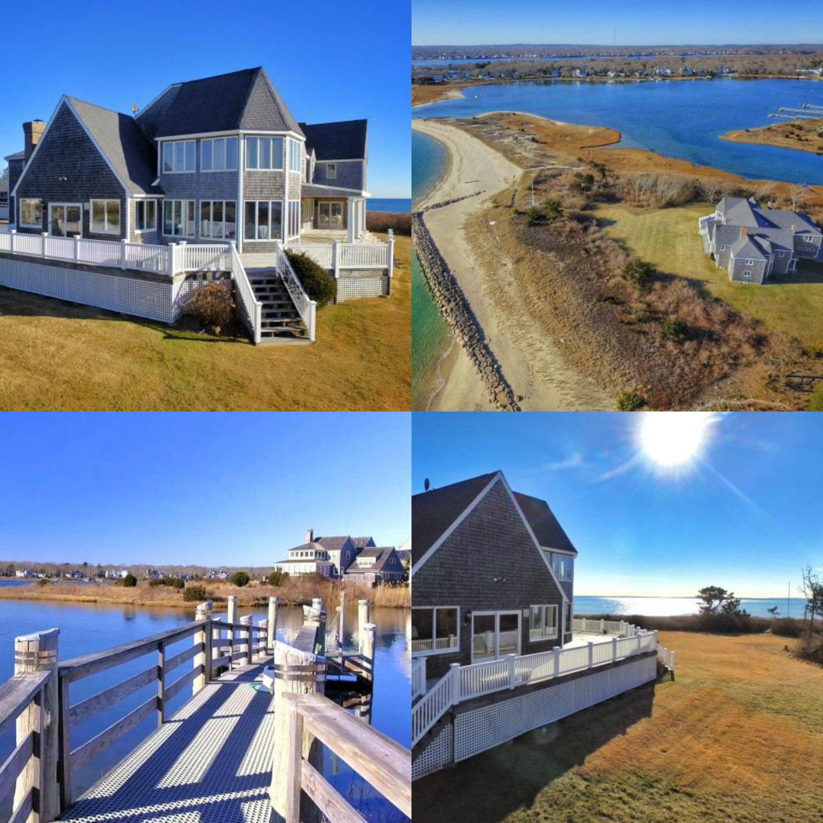 4 images of 24 Willis Lane in East Falmouth in Cape Cod MA
