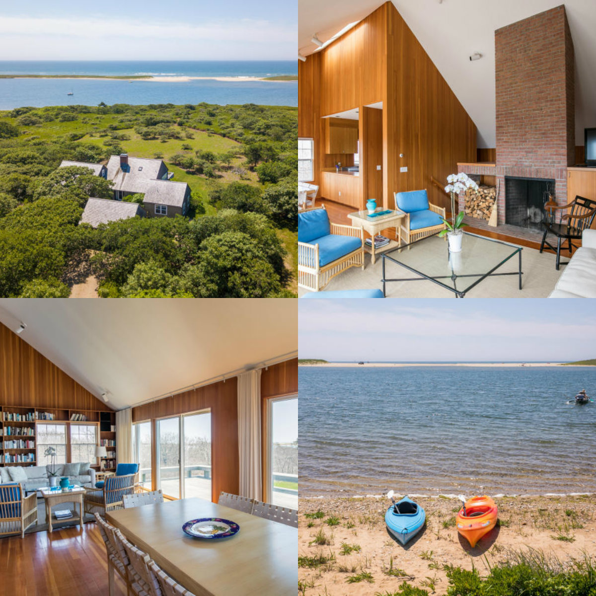 4 images of 50 Oyster Watcha Road in Edgartown in Cape Cod MA