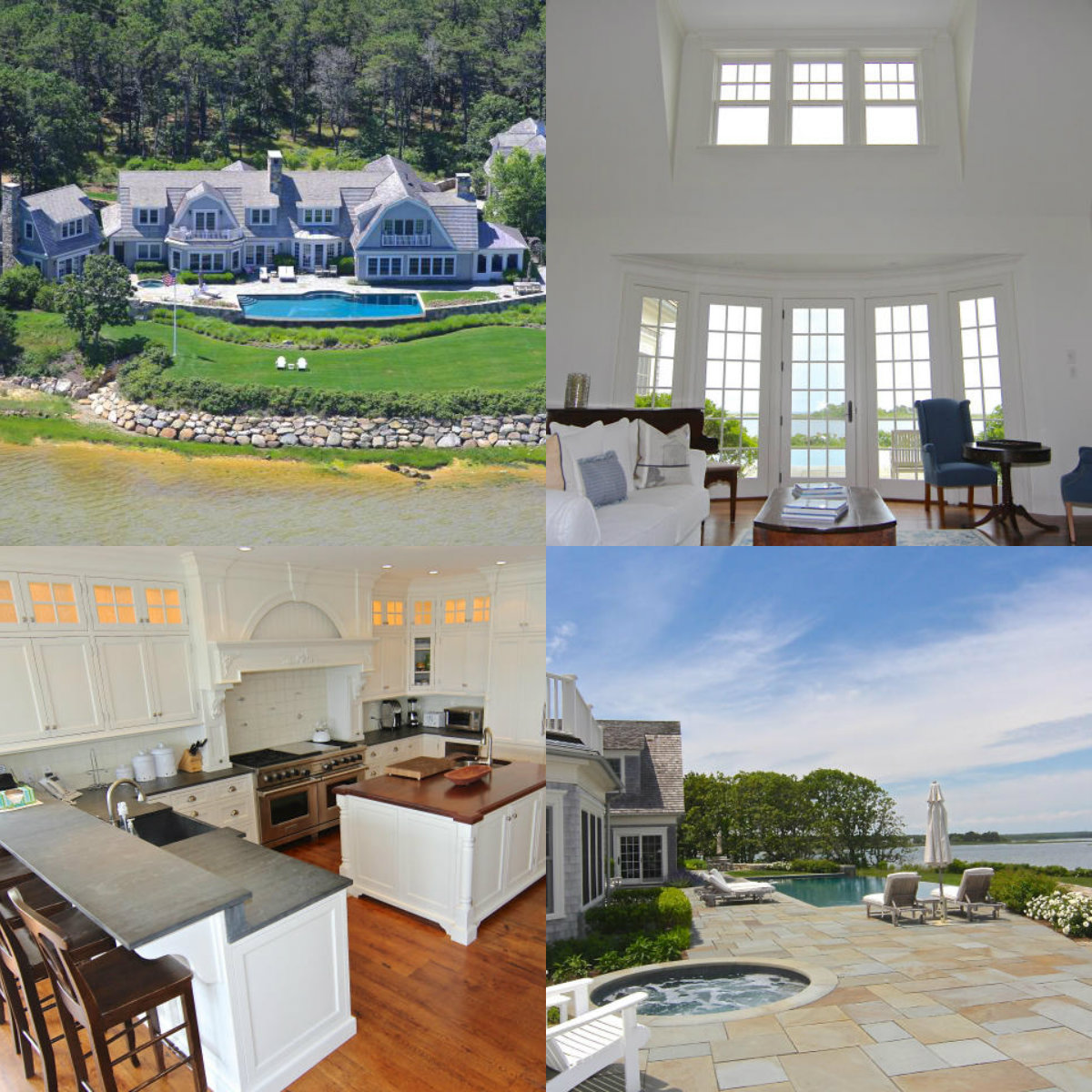 4 images of 96 Beach Road in Edgartown in Cape Cod MA