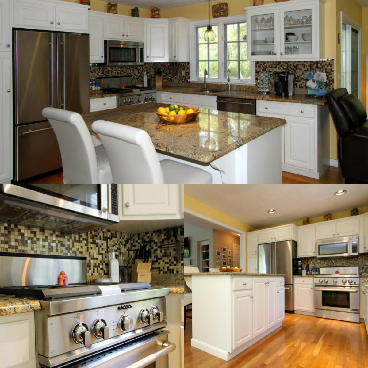 Images of kitchen at 27 Atwood Circle in Brewster Cape Cod MA