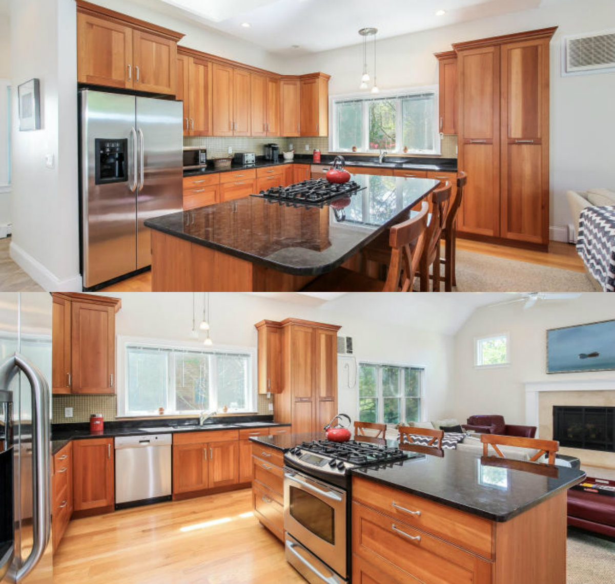 Images of kitchen at 40 Flying Mist Lane in Brewster Cape Cod MA