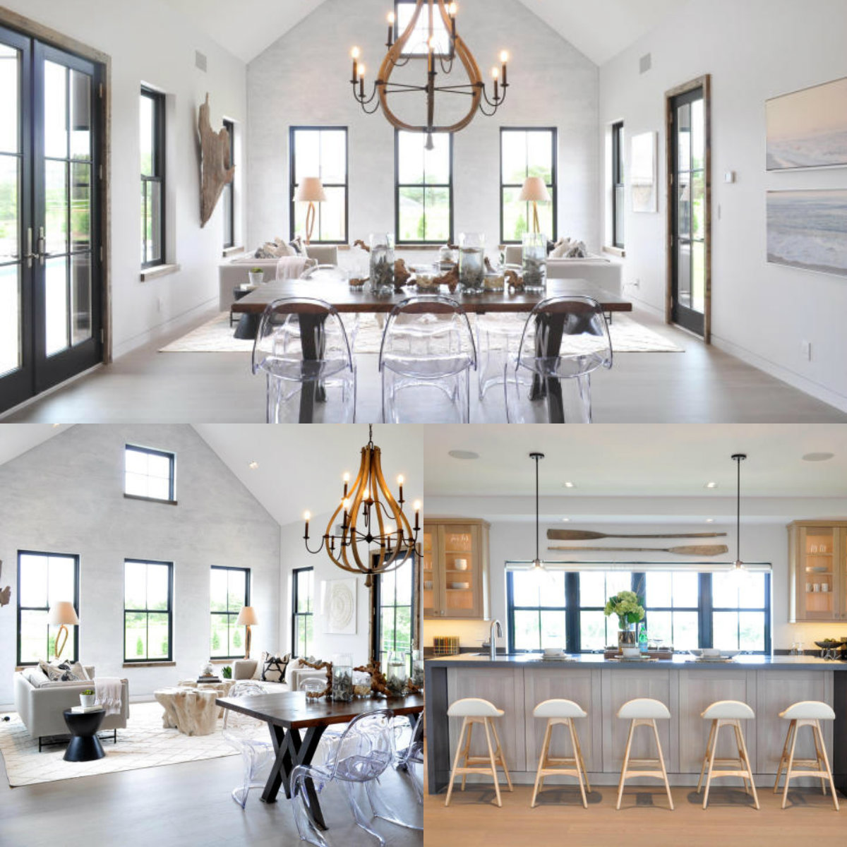 Images of rooms with windows in 10 Eat Fire Spring Road in Nantucket on Cape Cod MA