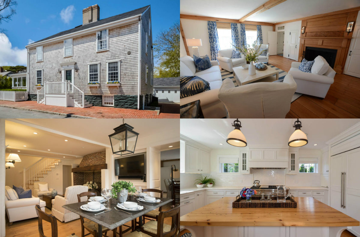 Images of 11 Hussey Street in Nantucket on Cape Cod MA