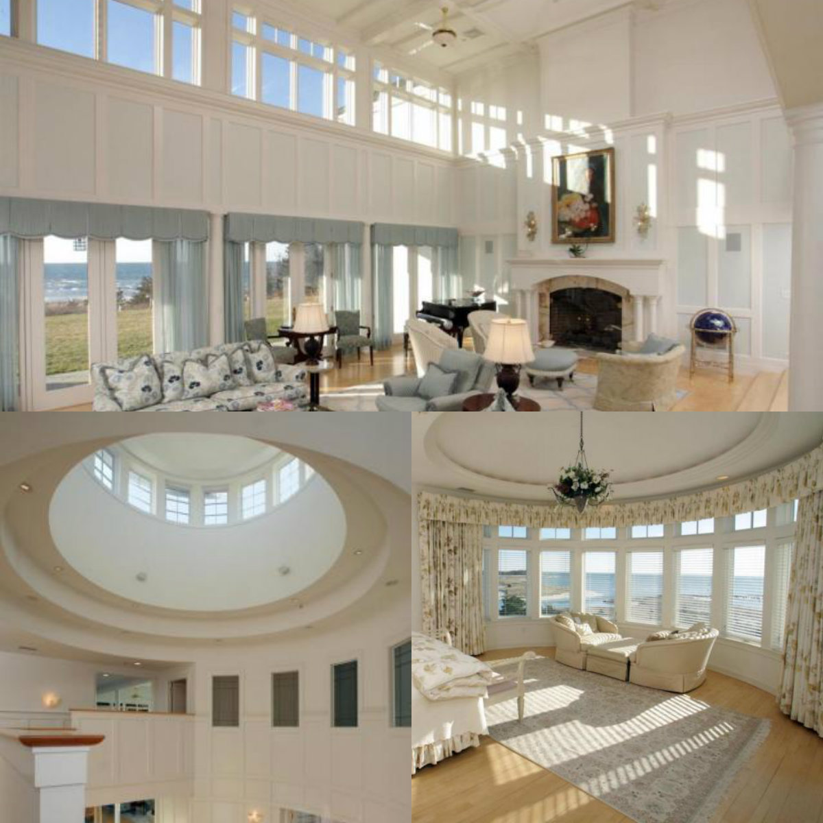 Images of rooms with windows in 251 Green Dunes Drive in West Hyannisport on Cape Cod MA
