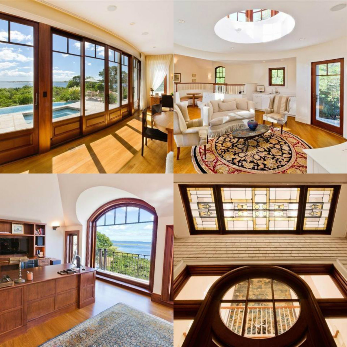 Images of rooms with windows in 461 Main Street in Osterville on Cape Cod MA