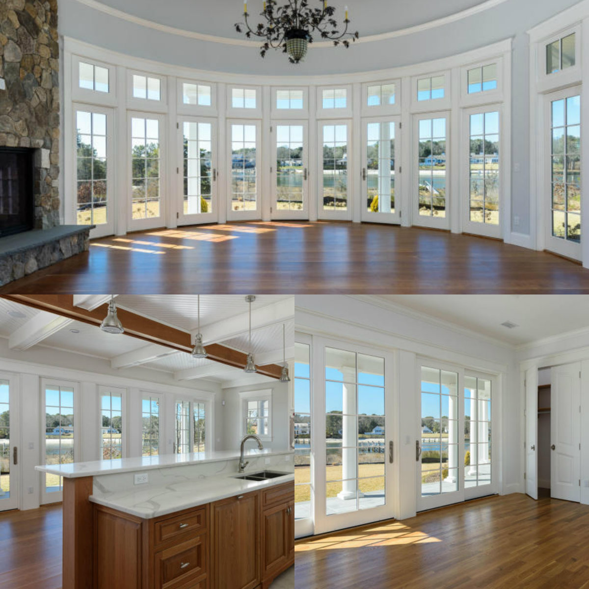 Images of rooms with windows in 501 Eel River Road in Osterville on Cape Cod MA
