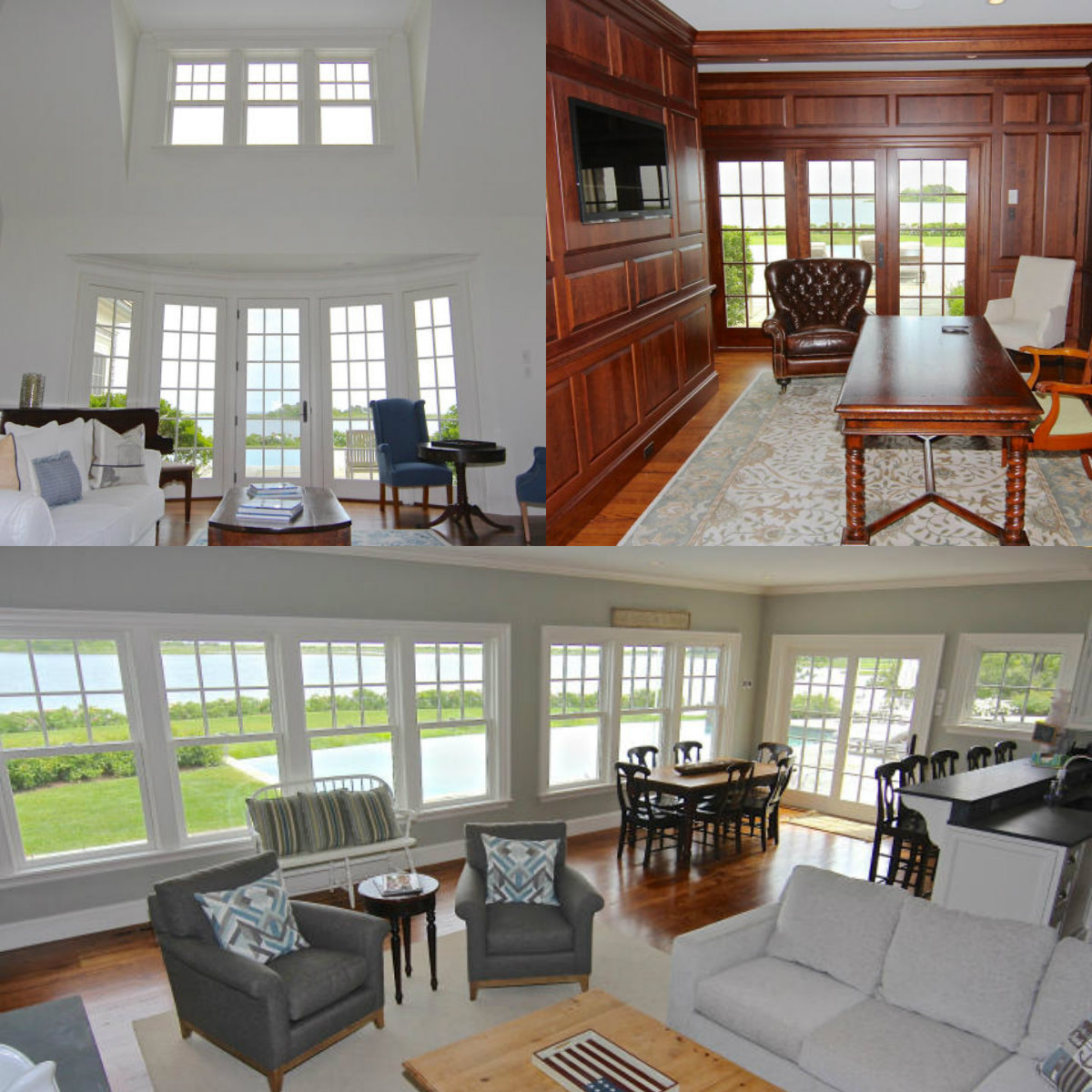 Images of rooms with windows in 96 Beach Road in Edgartown on Cape Cod MA