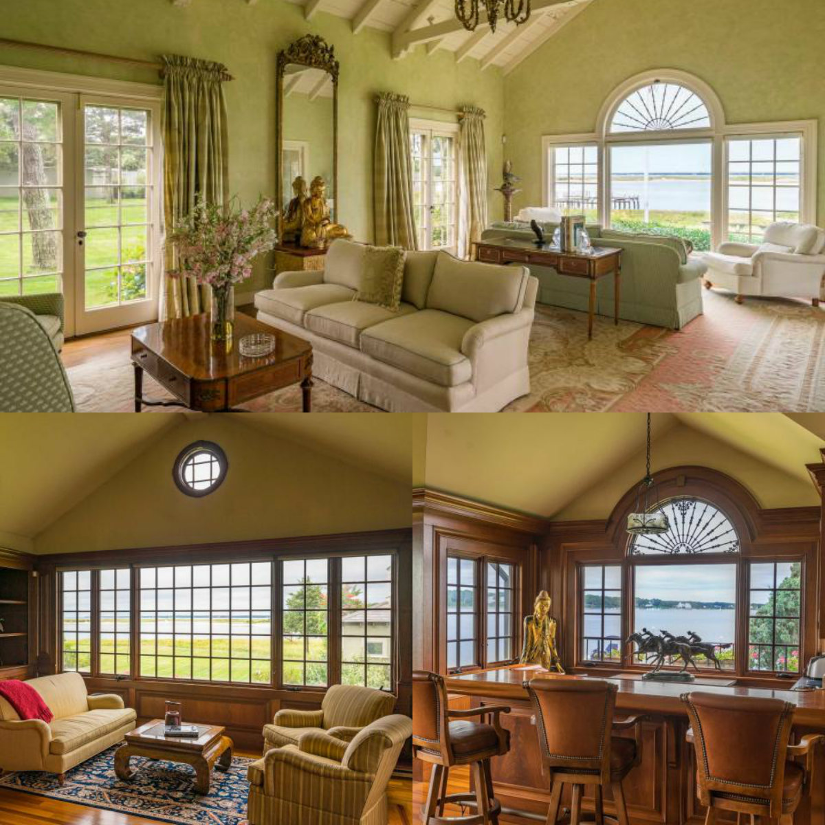 Images of rooms with windows in 986 Sea View Avenue in Osterville on Cape Cod MA