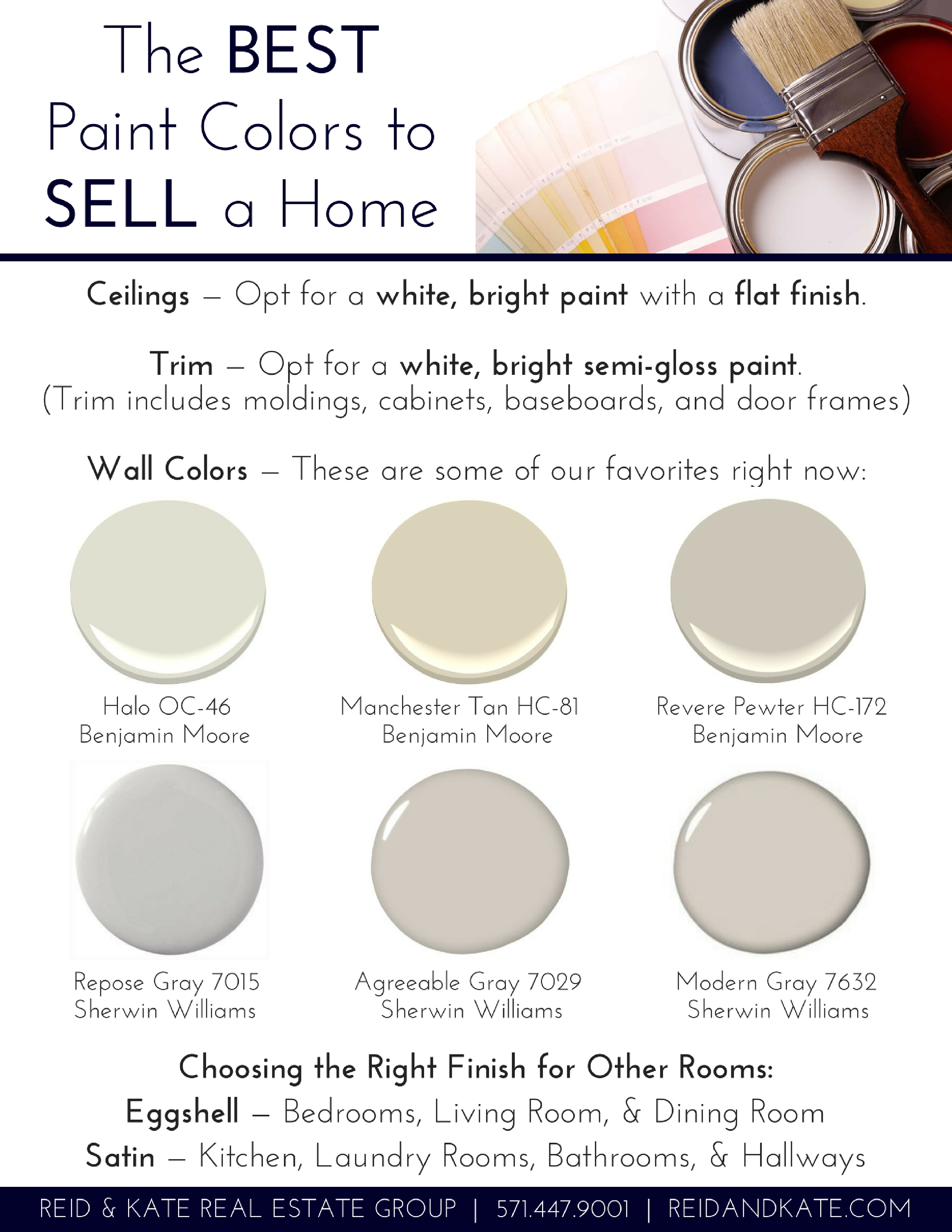 the best paint colors for the for the most suitable home