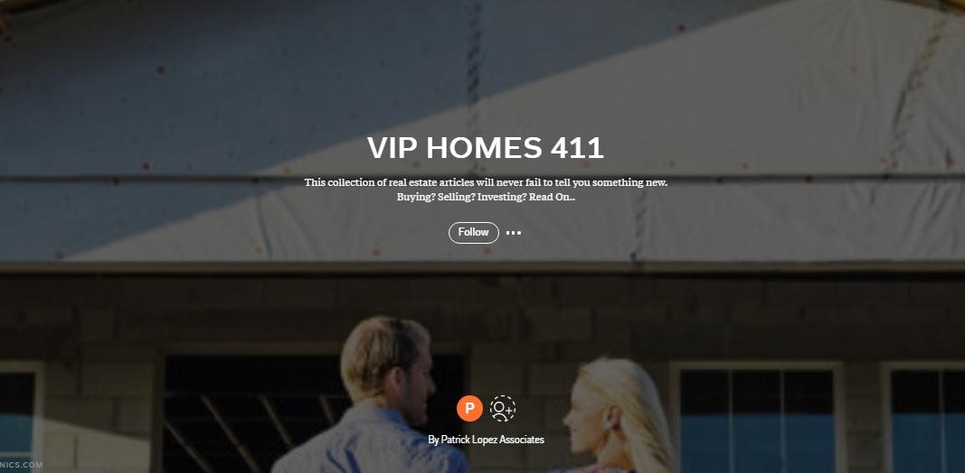 VIP HOMES 411 Real Estate Magazine Cover