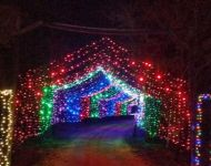 Drive Thru Santa's Ranch BEST PLACES TO SEE CHRISTMAS LIGHTS IN SAN ANTONIO