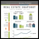 July 2016 CO Association of Realtors Snapshot