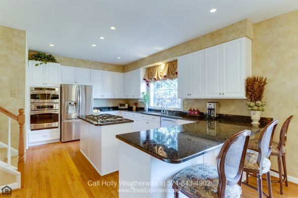 Luxury Homes in Vienna VA -Your inner chef is sure to be thrilled in the gourmet kitchen of this luxury home for sale in Vienna.