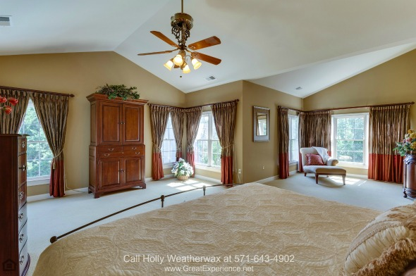 Vienna VA High End Homes for Sale - Dreamy bedrooms await you in this Vienna VA high end home for sale.