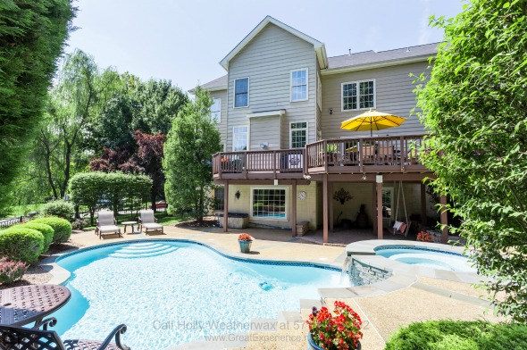 Real Estate Properties for Sale in Vienna VA - Your own slice of paradise awaits at the backyard of this luxury home for sale in Vienna VA.