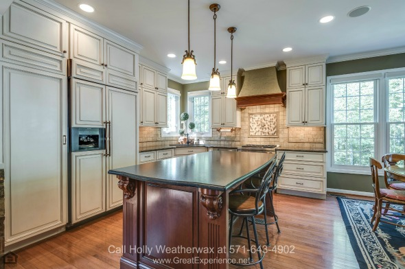 Homes for Sale in Reston VA - The large kitchen of this Reston VA home is a chef's dream!