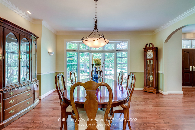 Reston, VA home for sale - Have a fine dining experience in this formal dining room in this house for sale in Reston, VA
