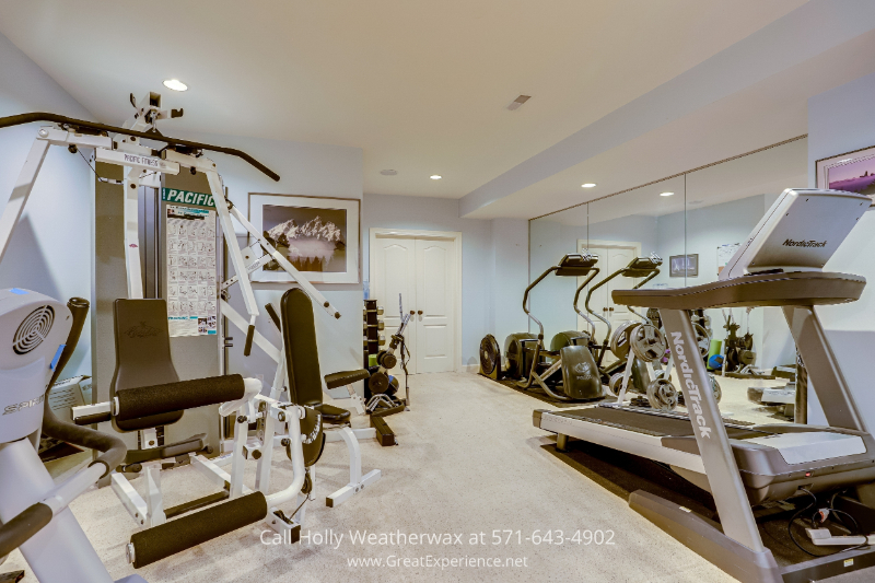 Property for sale in Reston, VA - Plan out your daily workouts in own home gym, Reston, VA