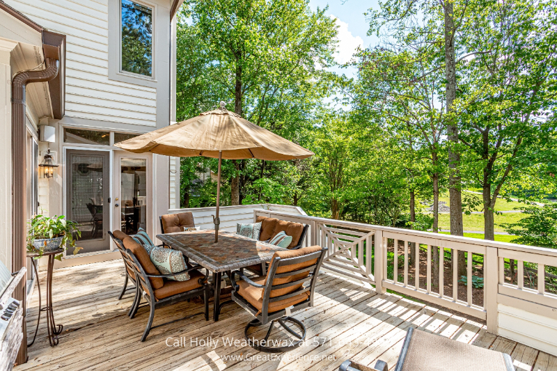 Reston, VA property - Admire the landscape from your own large deck in this property for sale in Reston, VA
