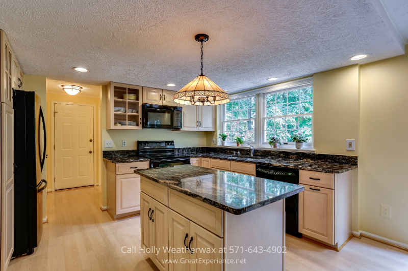 Reston VA 5-bedroom-up Home for Sale - The 3,289 sq ft home includes a wood-burning fireplace for cozy nights around the fire.