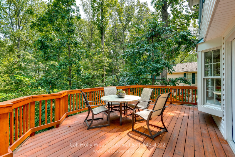 Reston Virginia Homes for Sale - This spacious home features a half-acre landscaped and hardscaped lot with deck, two flagstone patios and waterfall with pond