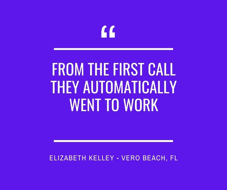 From the First Call They Automatically Went to Work