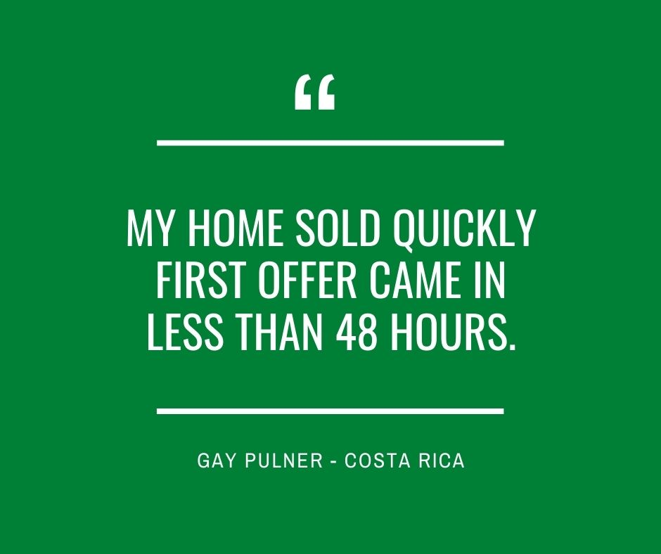 My Home Sold Quickly