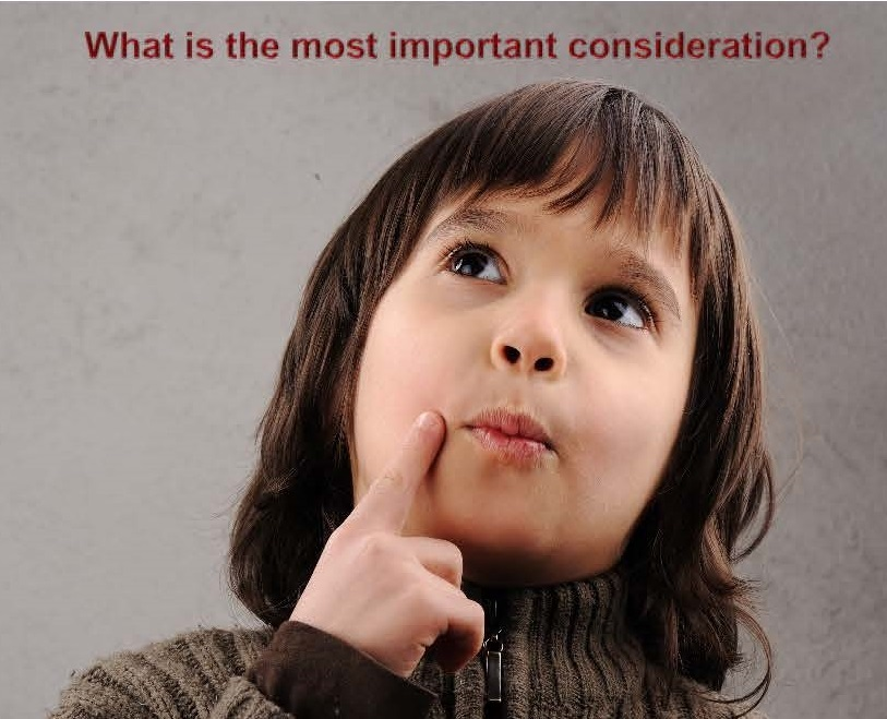 What is the most important consideration when selling your home?