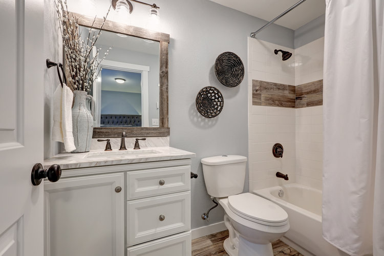 If You Have A Regular Mirror, Replacing It With One That Includes A  Medicine Cabinet And Provide Further Storage Space.