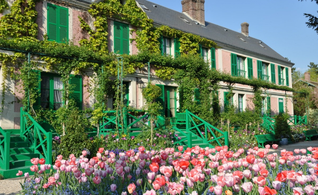 Claude Monet's Garden, Atelier and House, Giverny | Euroscope