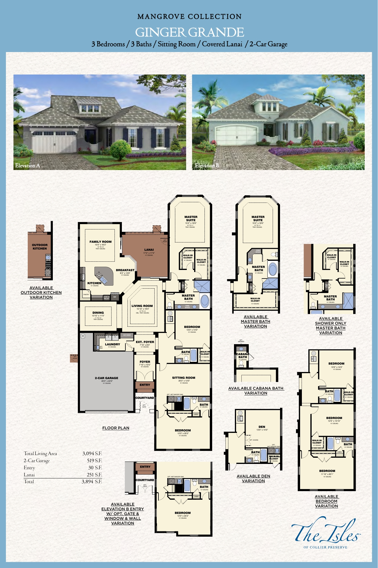 The Isles Of Collier Naples Florida Ginger Grande Floor