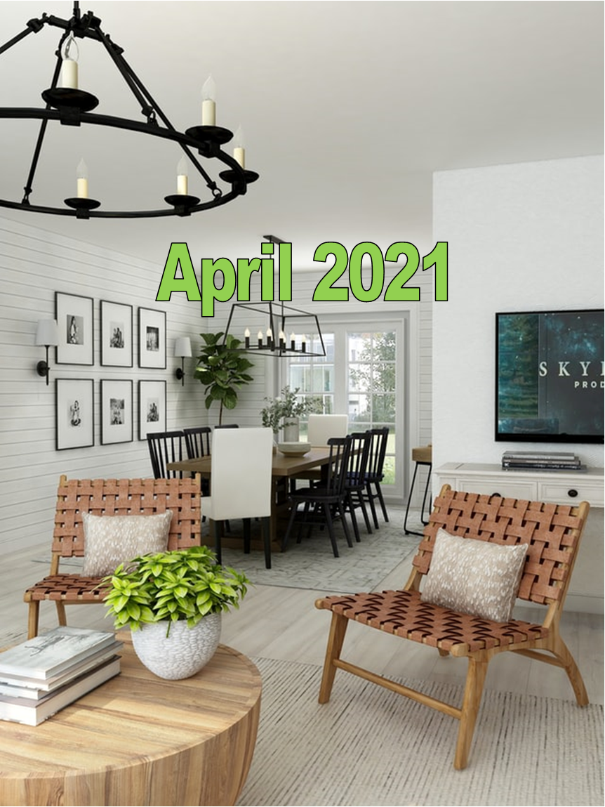 April 2021 Charleston Newsletter and Real Estate Update