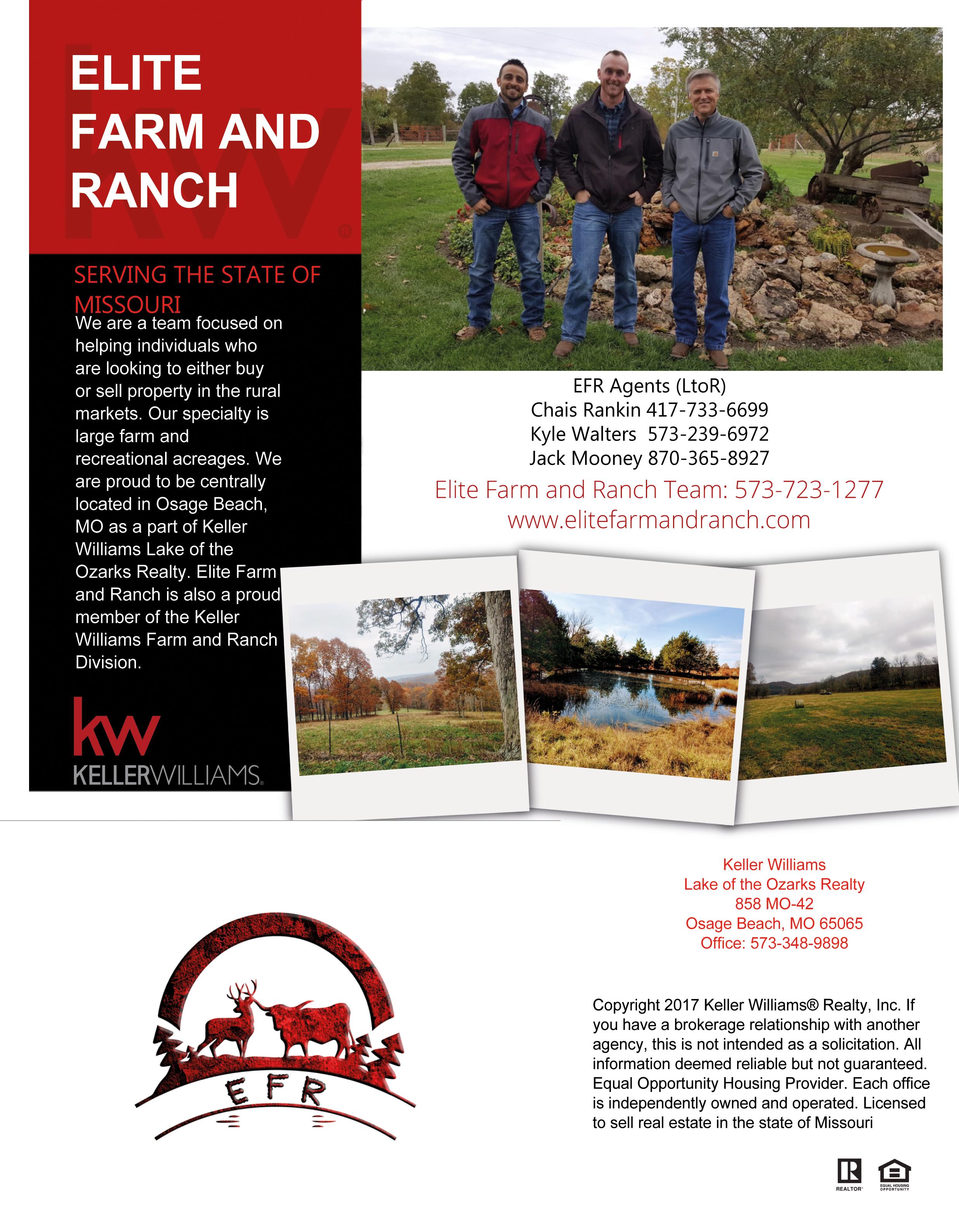 Central Missouri Elite Farm and Ranch Team