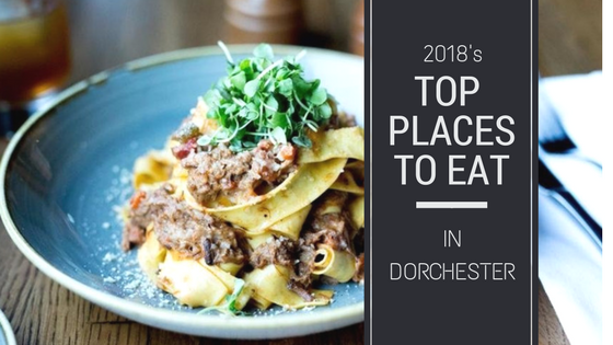 Blog Banner stating 2018's Best Restaurants in Dorchester Boston