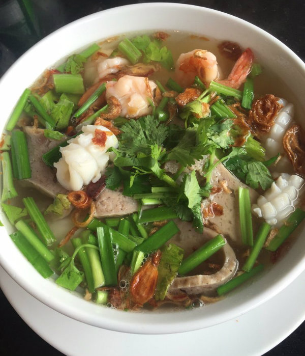 Big Bowl of Pho Soup from the Pho Ha Restaurant in Boston