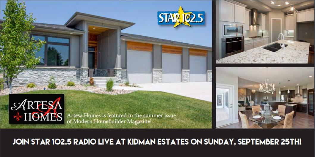 Join Us & Star 102.5 Radio live at Kidman Estates on Sunday, September 25th!