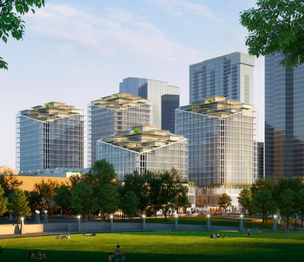 Kemper Proposes 4-Tower Expansion at Bellevue Square