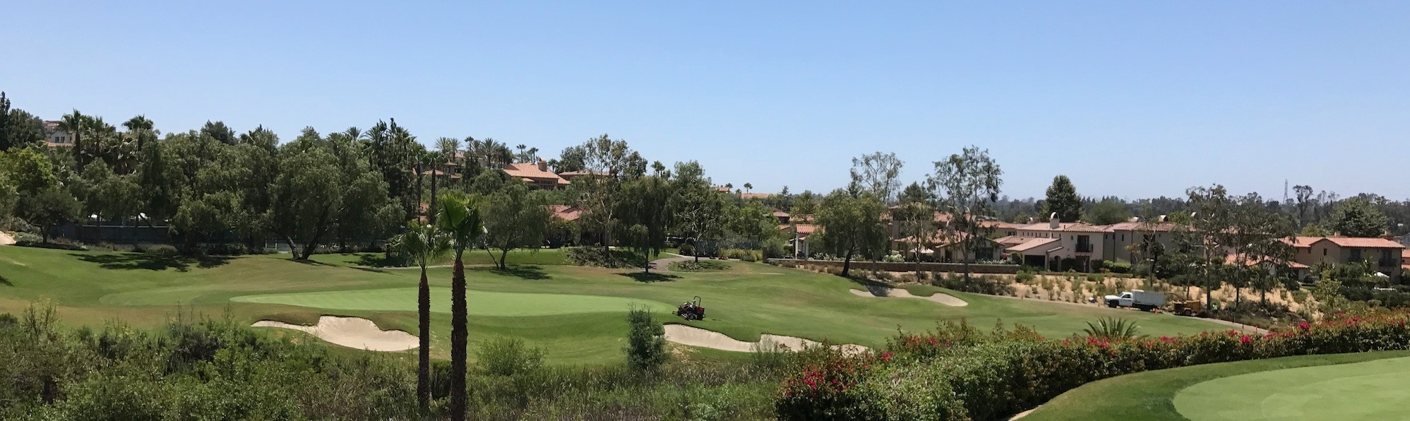 Golf Course at The Crosby in Rancho Santa Fe. by Don Clark Realtor 858 997-3859
