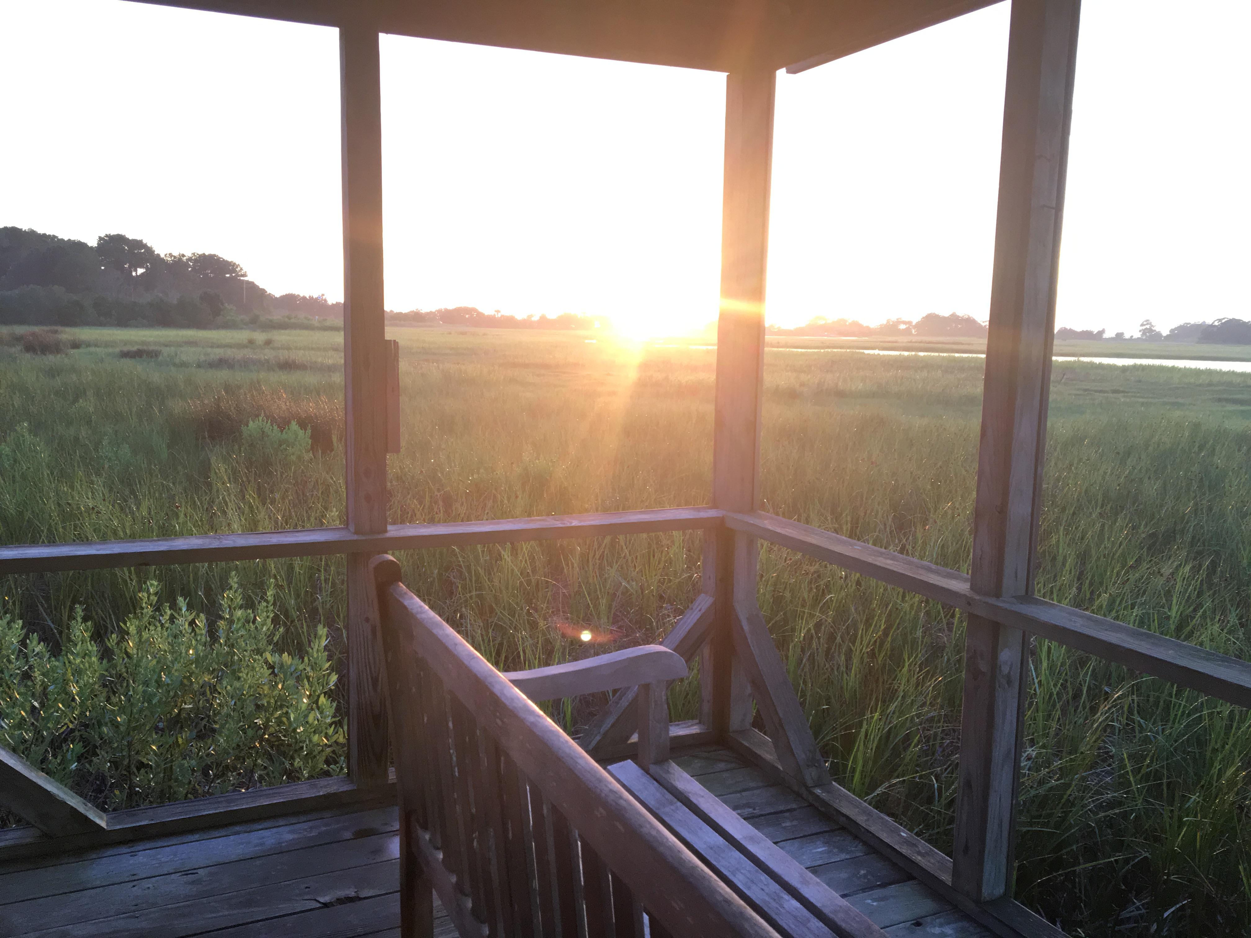 Dewees Sunset