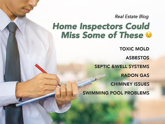 15 Common Misses by Home Inspectors
