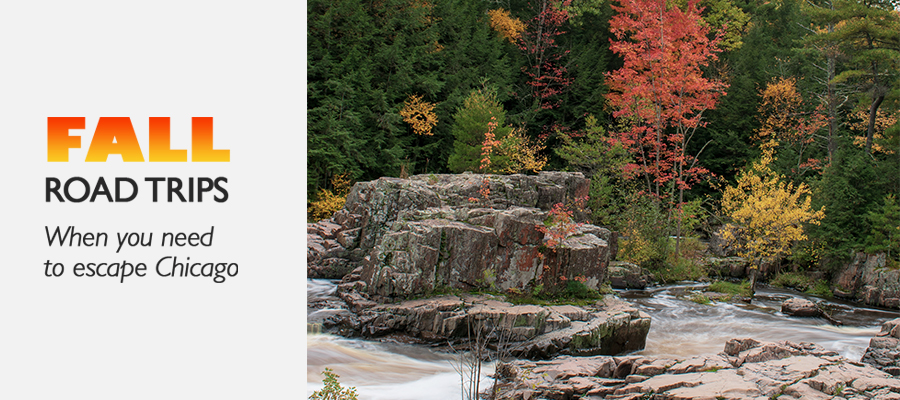 fall road trips near chicago